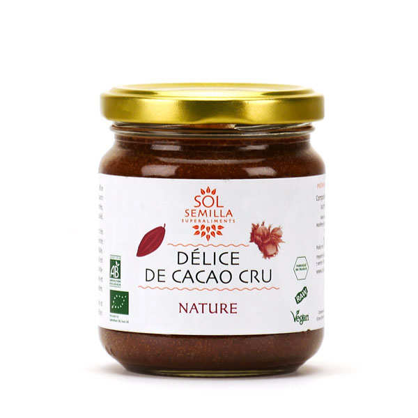 Organic Hazelnut and Raw Cocoa Spread