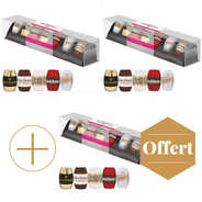 Monbana Chocolatier - Dark chocolate filled with liqueur (5 sorts) 2+1 for free