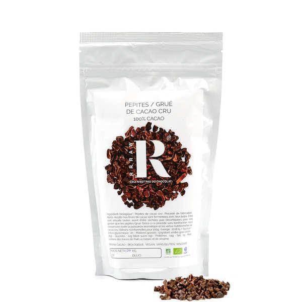 Pépites de cacao cru bio
