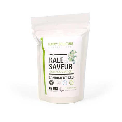 Happy Crulture - Condiment kale saveur - Gomasio vert
