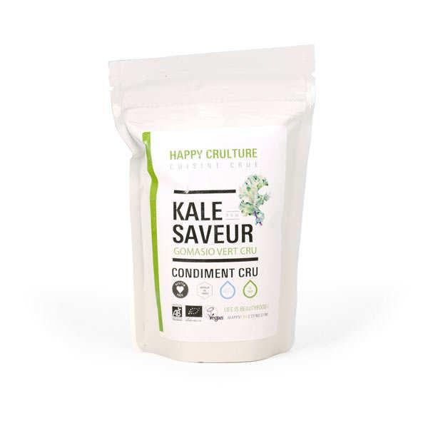 Condiment kale saveur - Gomasio vert