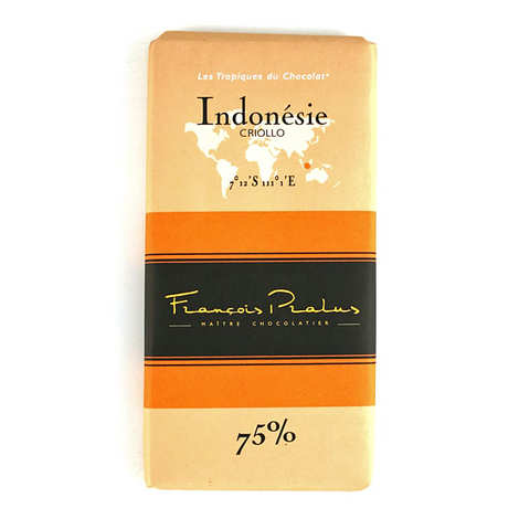 Chocolats François Pralus - Chocolate bar from Indonesia - Criollo