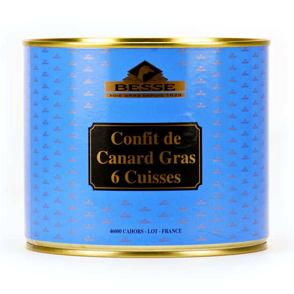 Confit de Canard Besse - from South Western France