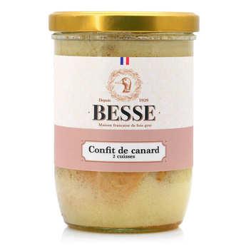 Foie gras GA BESSE - Confit de canard Besse du Sud Ouest