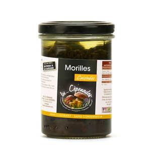 Les Cèpenades - Morilles cuisinées en conserve