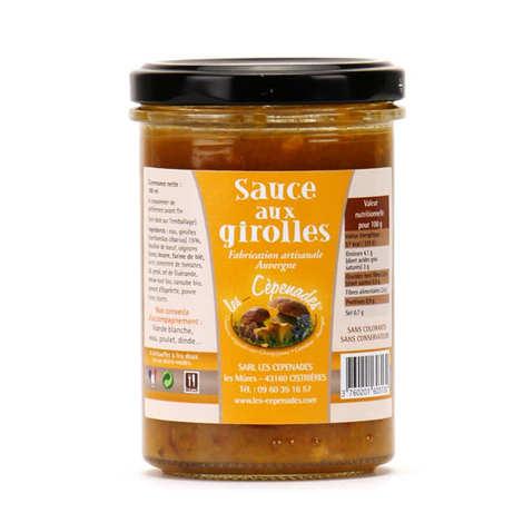Les Cèpenades - Sauce aux girolles d'Auvergne