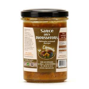 Les Cèpenades - Sauce aux mousserons d'Auvergne