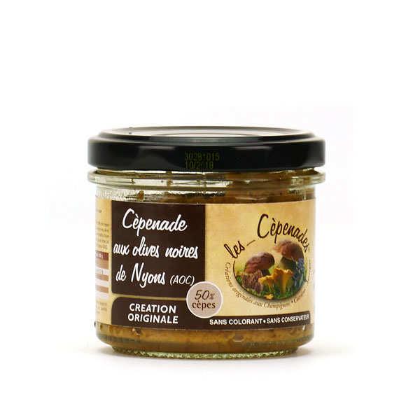 Cèpenade aux olives noires de Nyons - tartinable