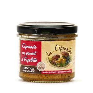 Les Cèpenades - Cèpenade au piment d'Espelette - tartinable