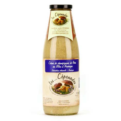 Les Cèpenades - Cream of Mushrooms from Paris au Bleu d'Auvergne