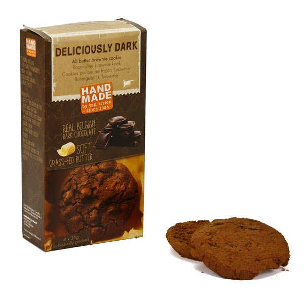 Cookies pur beurre façon brownie