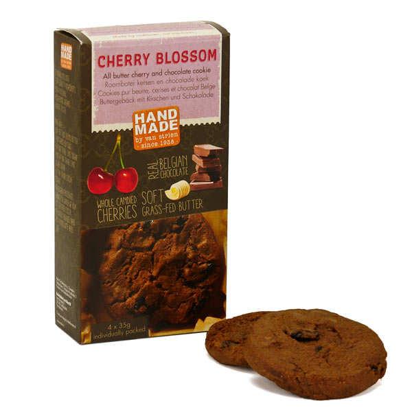 Cookies pur beurre cerises et chocolat