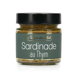 Le Temps des Mets - Sardine and Thyme Spread