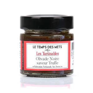 Le Temps des Mets - Olivade noire saveur truffe