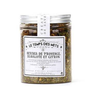 Le Temps des Mets - Herbes de Provence échalote et citron