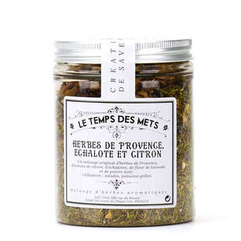 Le Temps des Mets - Herbs of Provence shallot and lemon