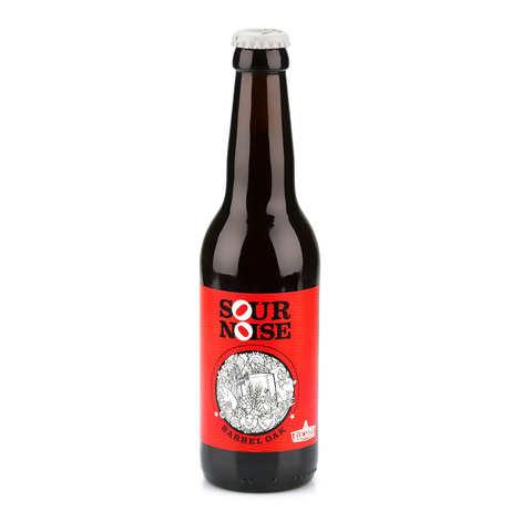 Brasserie Sulauze - Sour Noise Barrel Oak Amber Beer Brewery Sulauze 5%