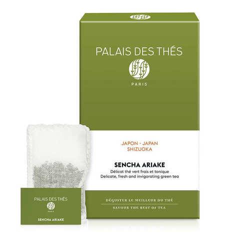 Palais des Thés - Thé Vert Sencha Ariake en mousselines - Le Palais des Thés
