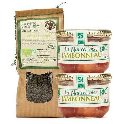 La Naucelloise - Jambonneau aux lentilles maison bio