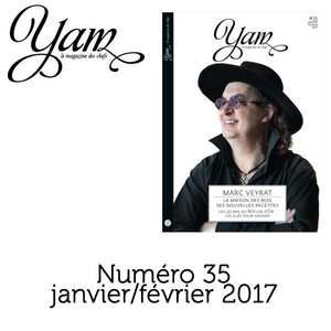 Yannick Alléno Magazine - French magazine about cuisine - YAM n°35