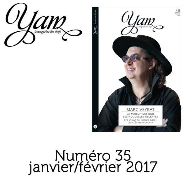 French magazine about cuisine - YAM n°35