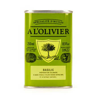 A L'Olivier - Extra Virgin Olive Oil With Basil