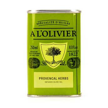 A L'Olivier - Huile d'olive vierge extra aux herbes de Provence