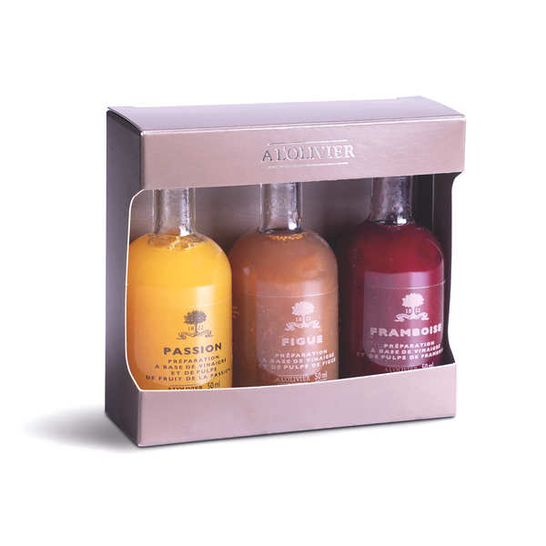 Fruit Vinegars Gift Box - Little bottles