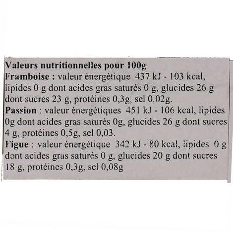 A L'Olivier - Coffret de vinaigres de fruits en mignonnettes
