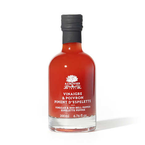 A L'Olivier - Pepper And Espelette Pepper Vinegar
