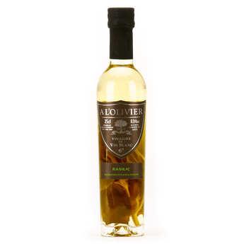 A L'Olivier - White Wine Vinegar With Basil