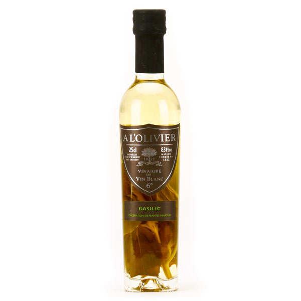 Vinaigre de vin blanc au basilic a l 39 olivier for Detartrage au vinaigre blanc