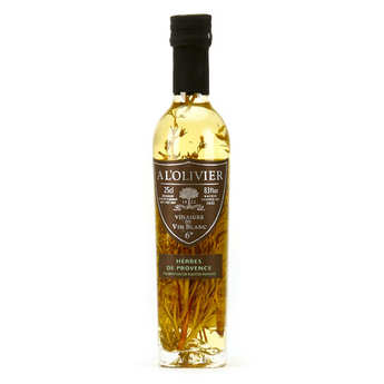 A L'Olivier - White Wine Vinegar With Provencal Herbs