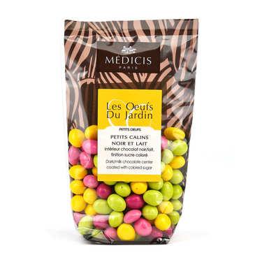Small Multicolored Chocolate Eggs