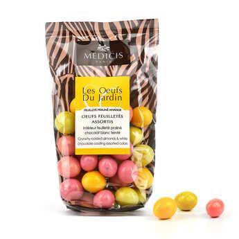 Dragées Médicis - Small Multicolored Eggs With Praline Inside