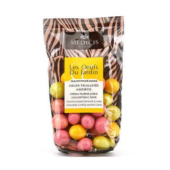 Dragées Médicis - Small Chocolate Eggs With Praline Inside