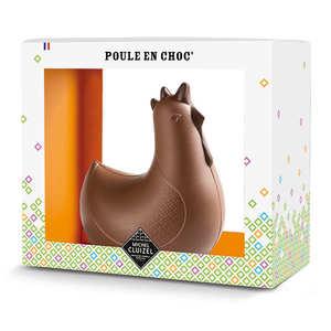 Michel Cluizel - Poule en choc'- Chocolat au lait