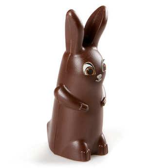BienManger.com - Funny Easter Rabbit in Dark Chocolate - Paulin