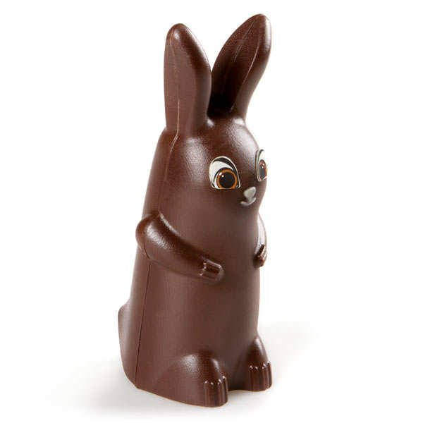 Funny Easter Rabbit in Dark Chocolate - Paulin