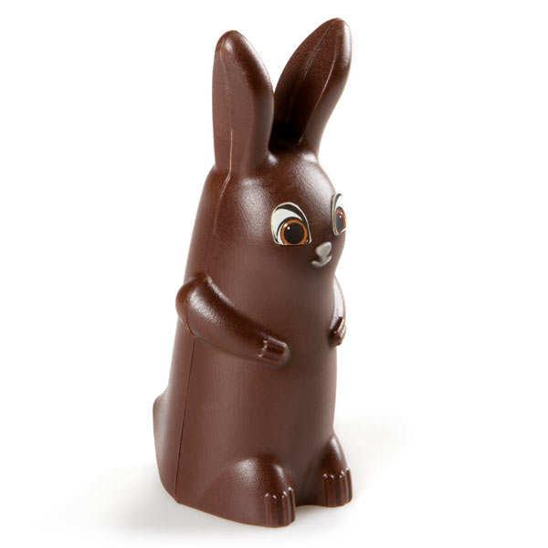 Paulin le lapin en chocolat noir