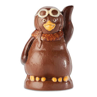 Le pingouin au chocolat au lait