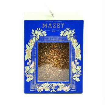 Mazet de Montargis - Oeuf en chocolat noir et grains de Praslines
