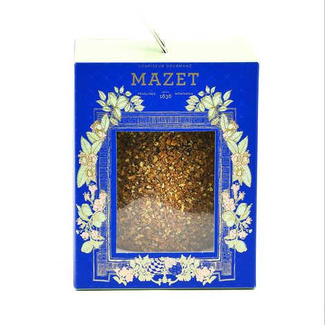 Mazet de Montargis - Dark Chocolate Egg with Praslines