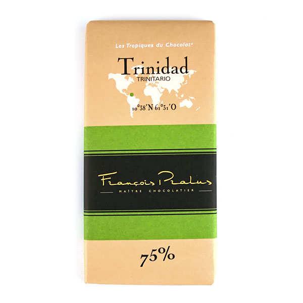 Tablette chocolat noir Trinidad Pralus 75%