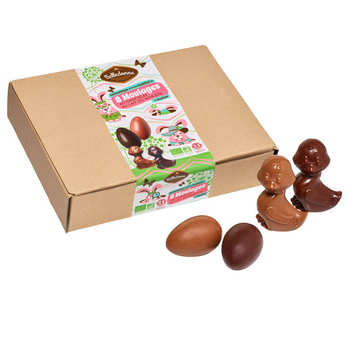 Belledonne Chocolatier - Box of 8 Organic Mini Casts To Hide
