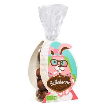 Belledonne Chocolatier - Small Milk Chocolate Eggs With Caramel Heart