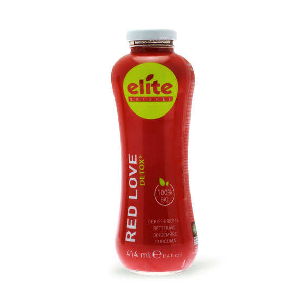 Red Love Organic and Fair Trade Detox Juice