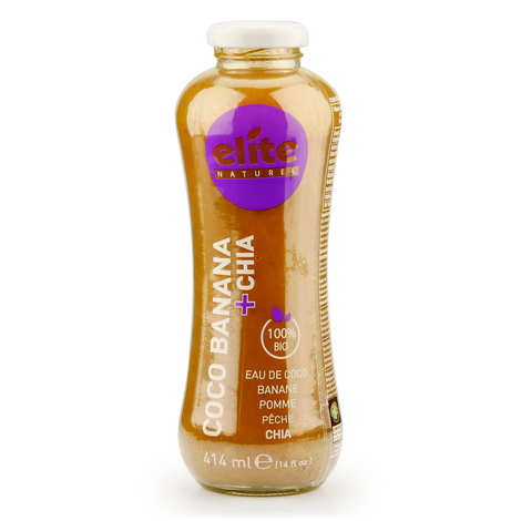 Elite Naturel - Coco Banana and Chia Organic and Fait Trade Detox Drink