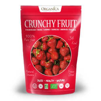 Organica - Crunchy fruit - fraise lyophilisée bio