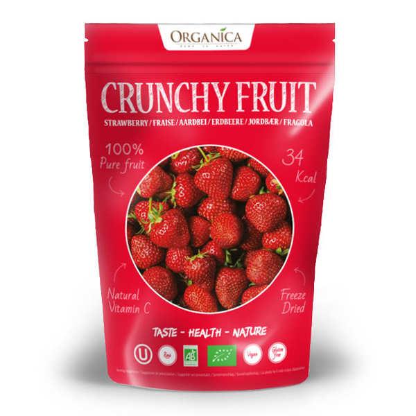 Crunchy fruit - fraise lyophilisée bio